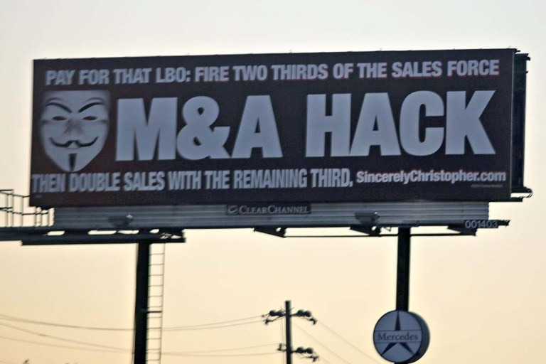 The M&A Hack